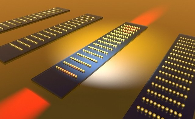 Surface plasmon coupler designed by the Kik Group at CREOL, The College of Optics and Photonics
