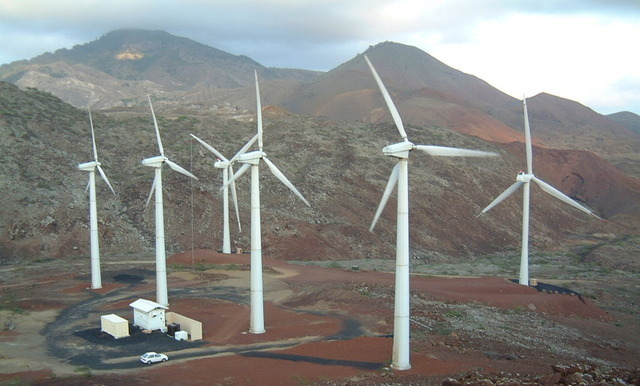 Windfarms turn up the heat at night