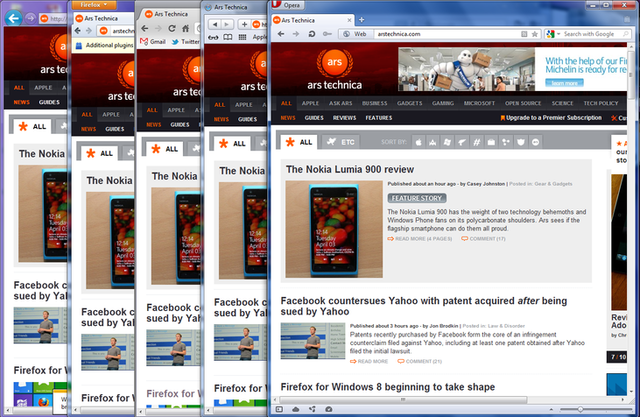 Ars browser shootout: which Web browser is best for business?