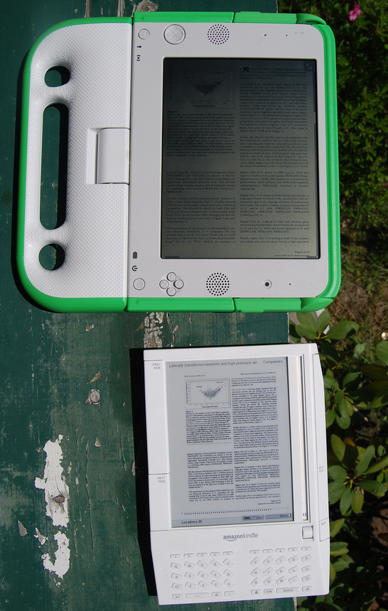 Giving Kindles to Ghanaian kids may be an OLPC alternative