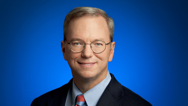 Eric Schmidt, current Google executive chairman and CEO during the launch of Android