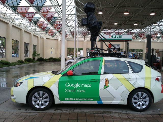 Feds: Upset by Google, man threw Molotov cocktails at Street View car near HQ