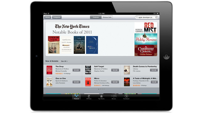 Apple e-book appeal: Higher new release prices boosted competition