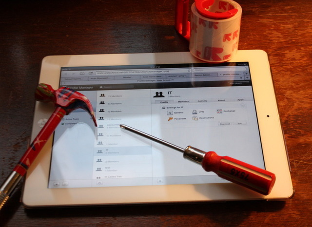 It may not replace everything, but the iPad belongs in an IT professional's tool belt.