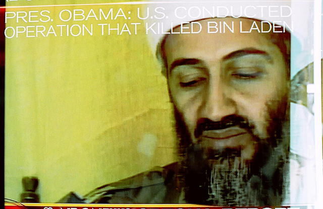 Bin Laden's death was detected by a Twitter data analytics service before being reported by the news media