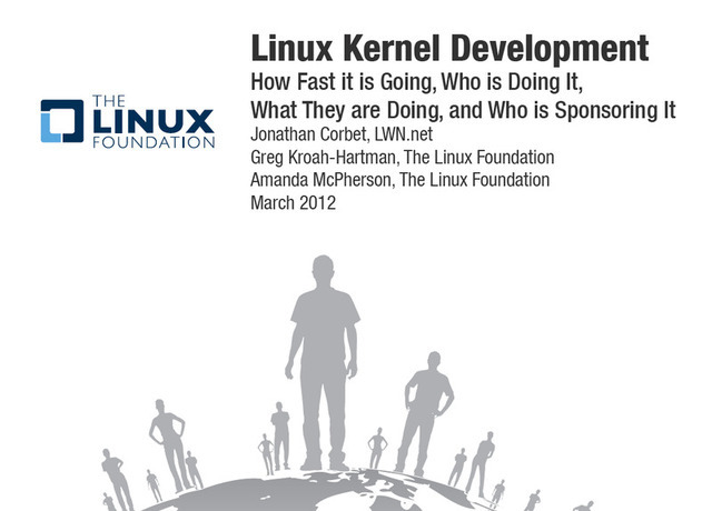 The Linux Foundation is enjoying continued growth in its annual kernel development study