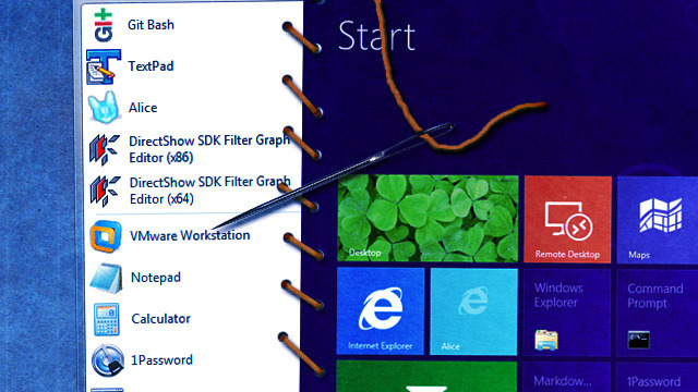 Windows 8 on the desktop—an awkward hybrid