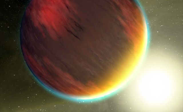 A new planet was detected via its gravitational influence on a hot Jupiter-class planet.