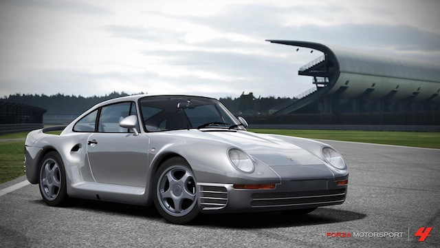 Porsche comes back to Forza Motorsport 4