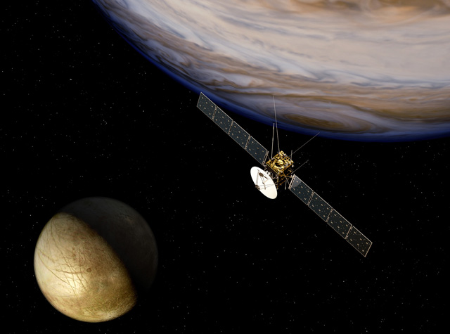 ESA's JUICE will voyage to Jupiter's moons