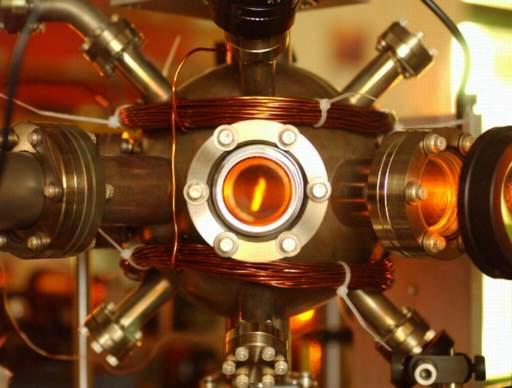 A magneto-optical trap for rubidium atoms.