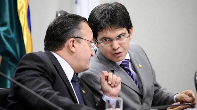 Senator Pedro Taques and Senator Randolfe Rodrigues, two leaders of the investigation