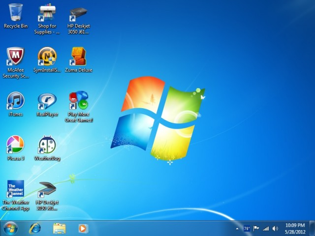 Does your new PC's desktop look like this, or worse? It doesn't have to be this way!