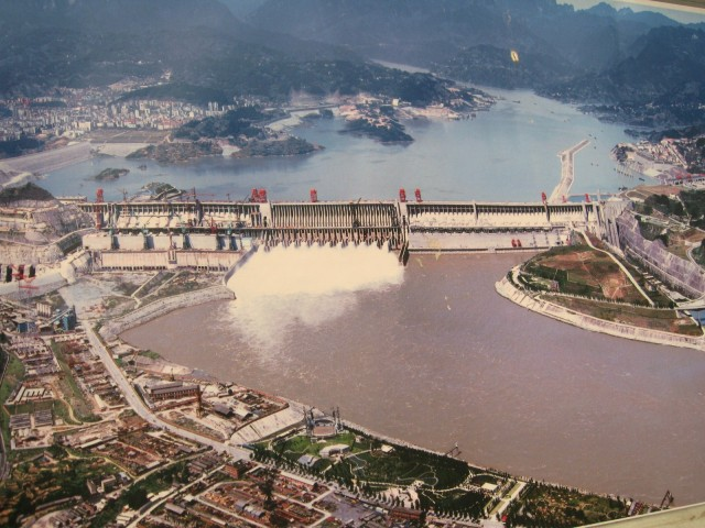 Three Gorges Dam on the Yangtze River in China