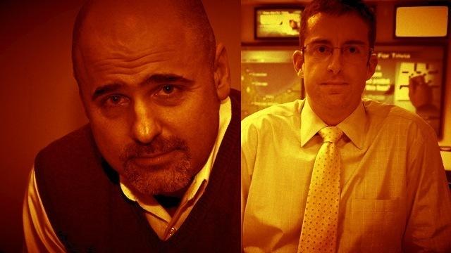 Chicago CTO John Tolva (left), and Chicago CDO Brett Goldstein (right).