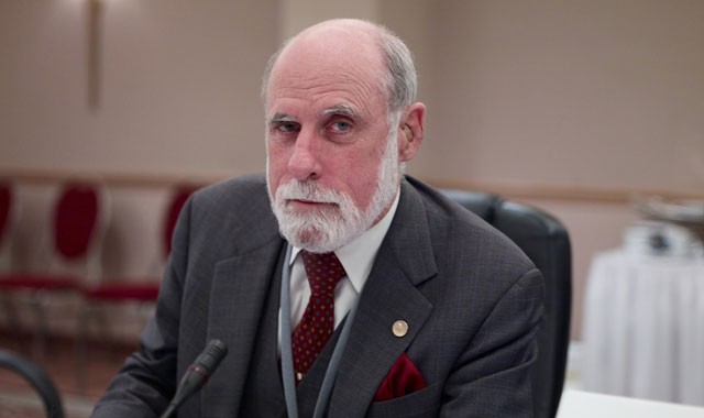 Skeptical Vint Cerf is skeptical.