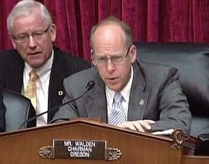 """Rep. Walden gives NTIA his """"face of skepticism."""""""