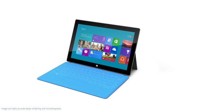 Microsoft's own Surface: one of the few Windows RT devices that you can actually buy.