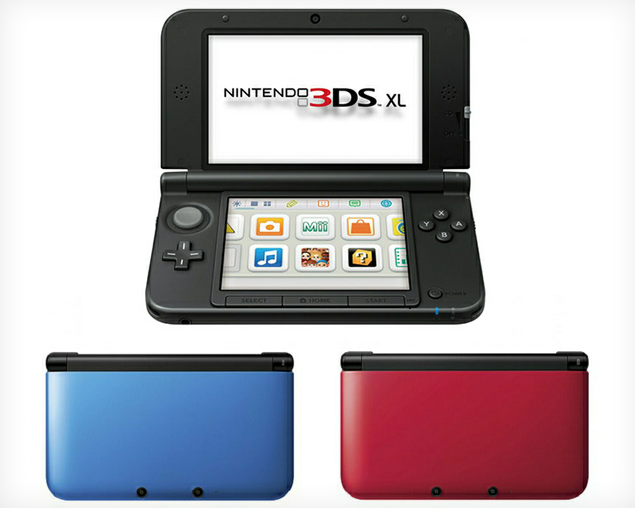Oversized version of 3DS hardware coming to North America in August