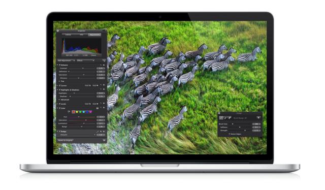Bye Ethernet port, hello retina: OpenForum talks new MacBook