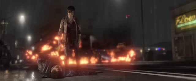 One of the many scenes from <i>Beyond: Two Souls</i> that look like they came from a random summer blockbuster.