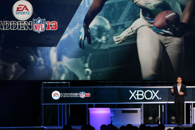 Kinect takes center stage at E3 with Madden, FIFA franchises