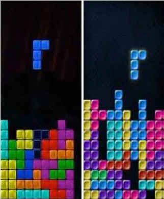 The fact that it's hard to tell which one is <i>Tetris</i> and which one is <i>Mino</i> bolstered the copyright infringement claim.