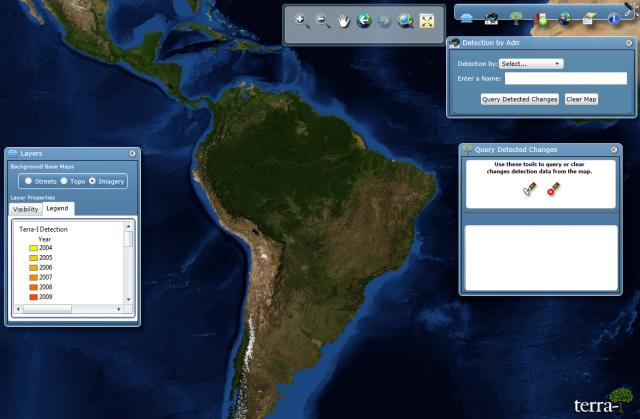 Terra-i interface