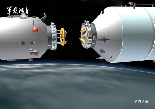 China now third country to carry astronauts to an orbital space station