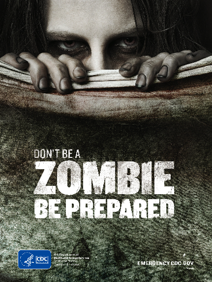 Always be prepared... for zombie attacks.