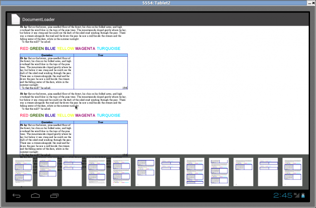 LibreOffice for Android advances, document viewer is on the way
