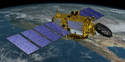 NASA's JASON-3 Satellite maps ocean height to within a few centimeters.
