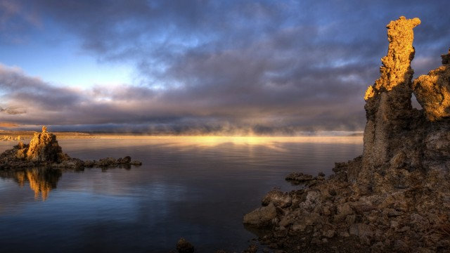 The otherworldly waters of California's Mono Lake were the source of bacteria that, according to NASA, shed light on the search for life on other planets.