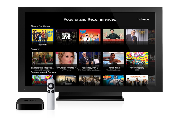 Apple TV gains subscription streaming option via Hulu Plus