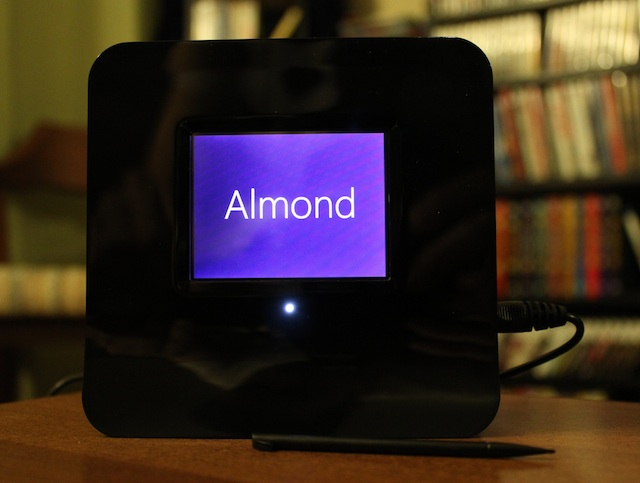 Securifi's Almond touchscreen router isn't cutting edge, but it simplifies setup in many ways.