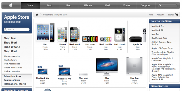 Apple's UK store may soon have a notice pointing to a court ruling over Samsung's lack of infringement on the iPad.