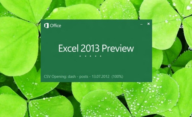 Excel 2013 wants to ease your data analysis pains in a single click.