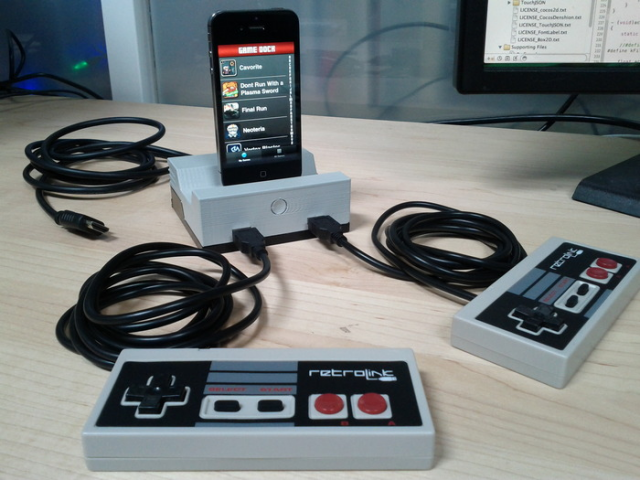 GameDock wants to turn your iDevice into a game console