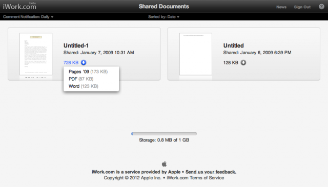 Download your iWork.com files from the Web before Apple shuts it down on July 31.