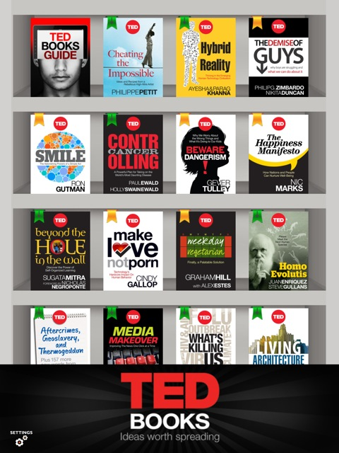 Hands-on: TED Books iOS app