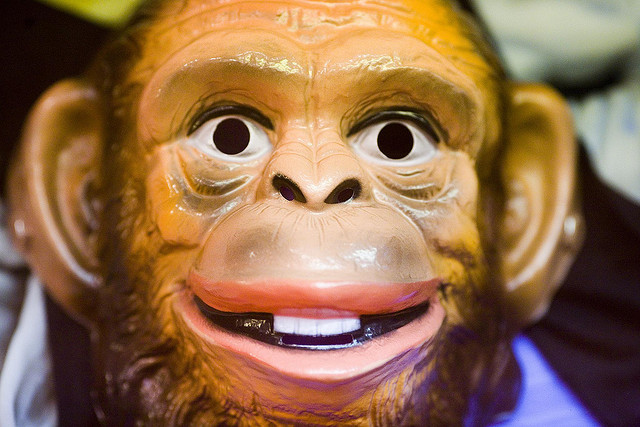 Netflix built a virtual monkey to wreak havoc on its network. We imagine it's not as creepy-looking as this one.