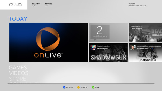 OnLive games will stream to Ouya at launch