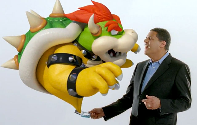 That face of initial, ecstatic 3D revelry NOA President Reggie Fils-Aime is modeling here seems to have worn off for most consumers.
