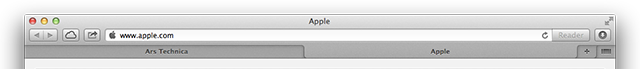 Tabs now stretch to fill the full window width.