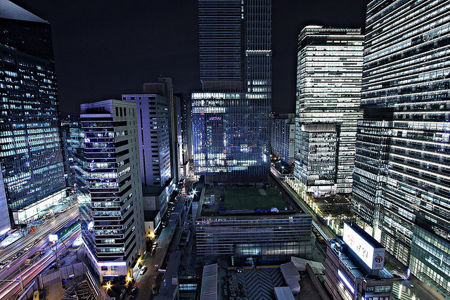 The Samsung Complex in Gangnam, Seoul Korea.