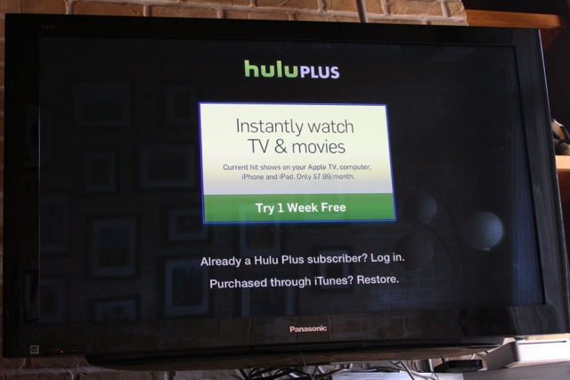 Hulu Plus UI on Apple TV: a photo tour | Ars Technica