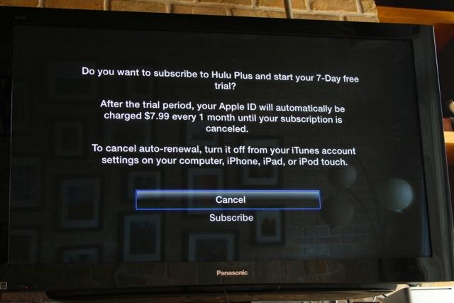 Hulu Plus UI on Apple TV: a photo tour | Ars Technica