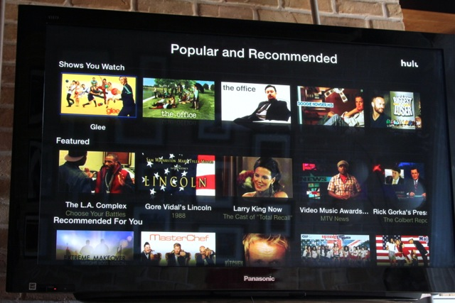Hulu apple tv