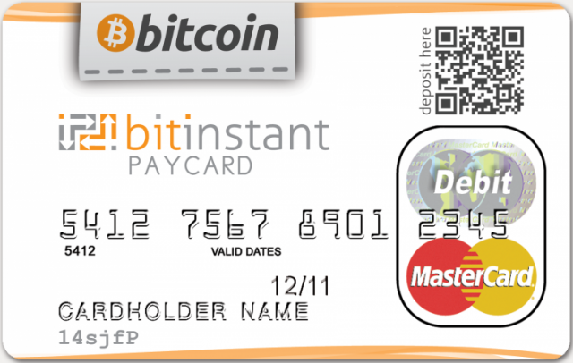 BitInstant says it expects to launch the first bitcoin-enabled debit card within the next several weeks.