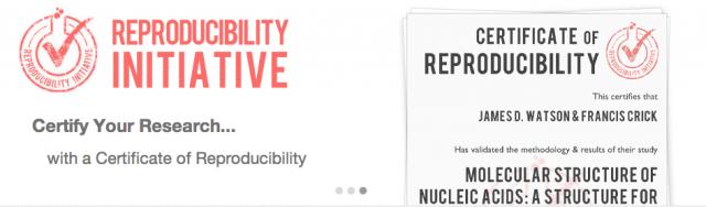 Scientific reproducibility, for fun and profit